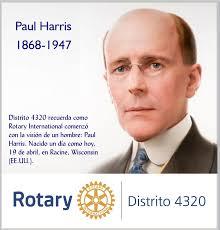 A 152 AÑOS DEL NACIMIENTO DE PAUL HARRIS / EL FUNDADOR DE ROTARY  INTERNATIONAL – Blog Distrito RI 4320